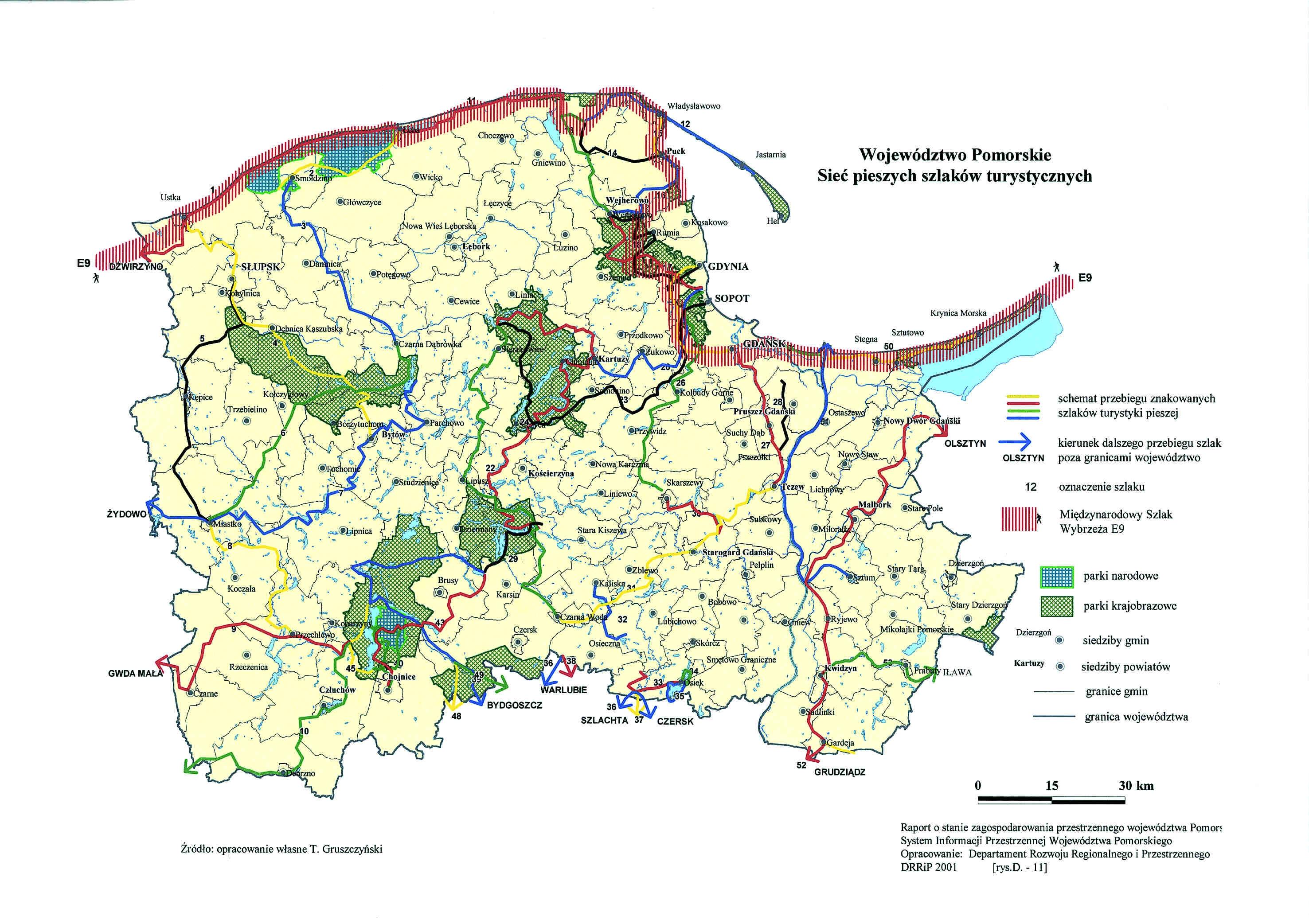 Leba Mapy Plany Dla Miasta Leby